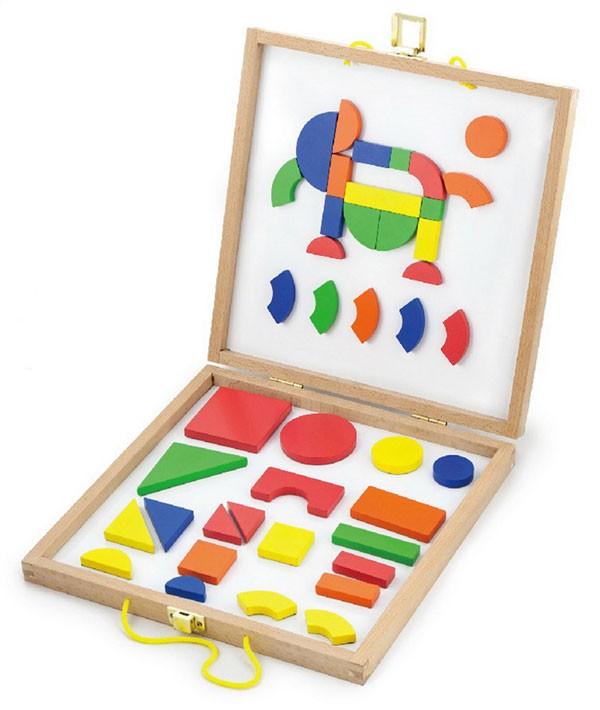 Magnet-Formen-Spiel