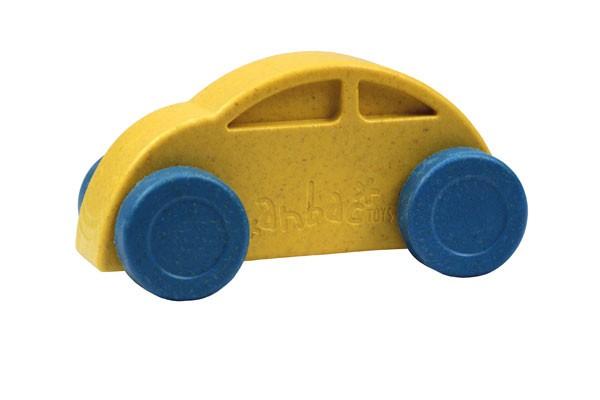 Anbac-Auto-Chassis gelb/Räder blau