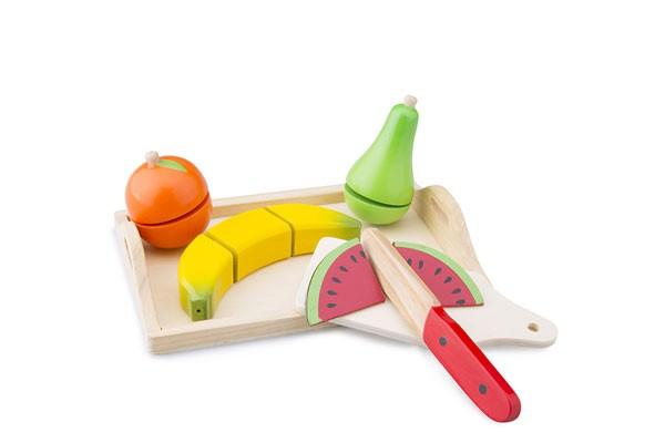Obst schneiden inklusive Tablett