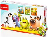 """puzzlika - """"Lieblingstiere"""", 48 tlg. Puzzle 3in1"""