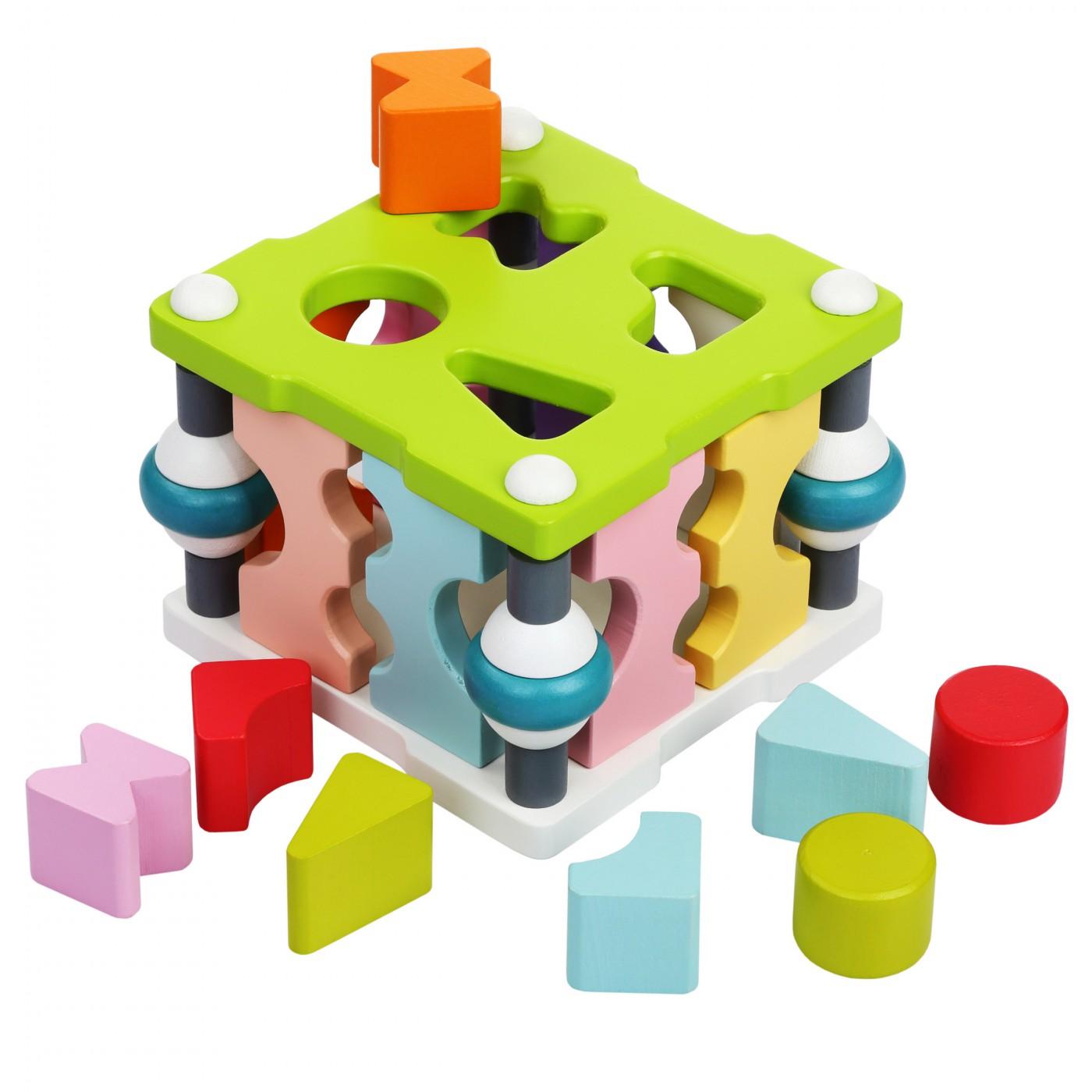 Formensteckspiel - Würfel LS-3