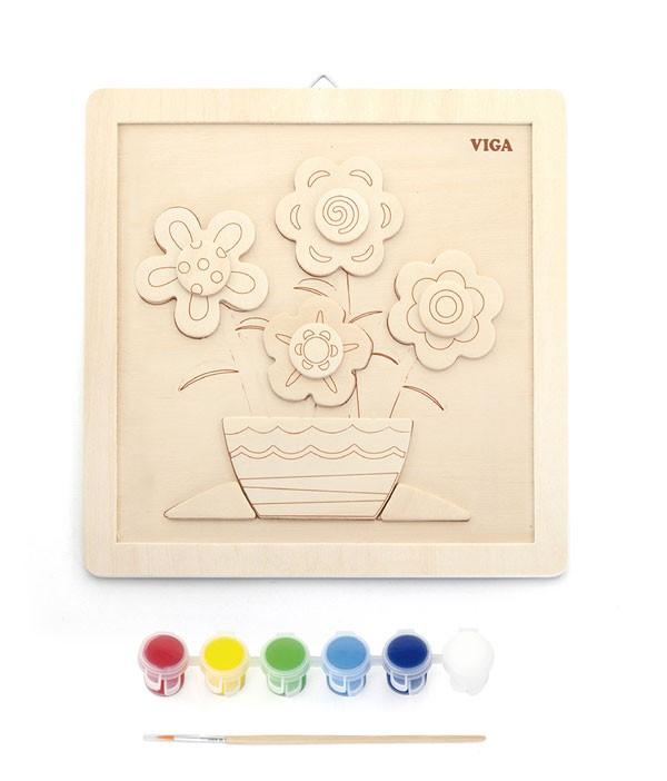 DIY Mal-Set Blumen