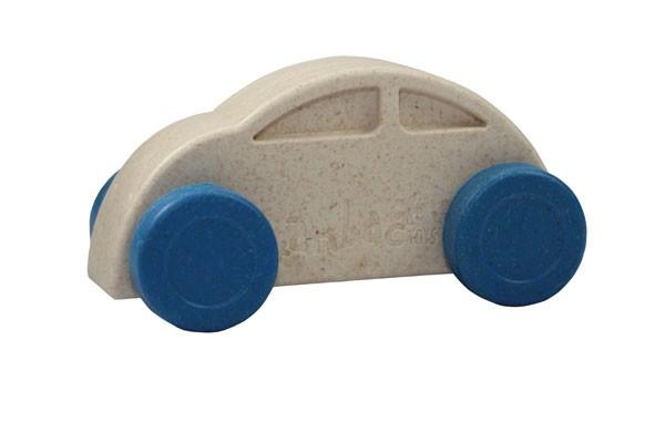 Anbac-Auto-Chassis weiß/Räder blau