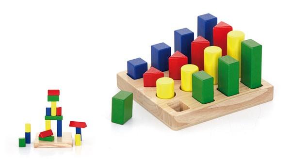 Formen-Steckspiel