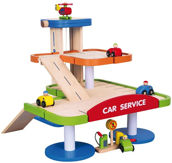 Parkgarage 3 Etagen