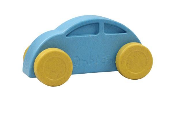 Anbac-Auto-Chassis blau/Räder gelb