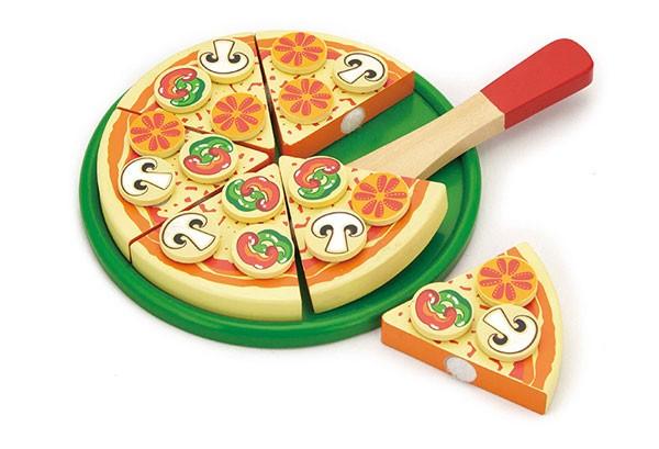Pizza schneiden