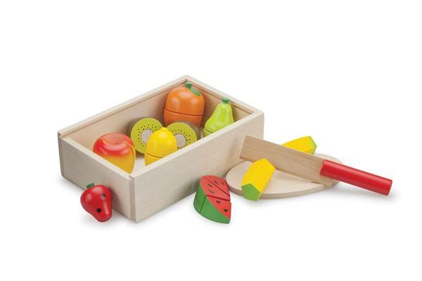 Früchte schneiden