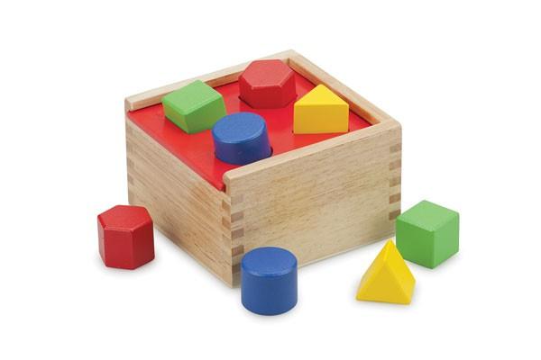 Formen-Sortierbox-8 Steine