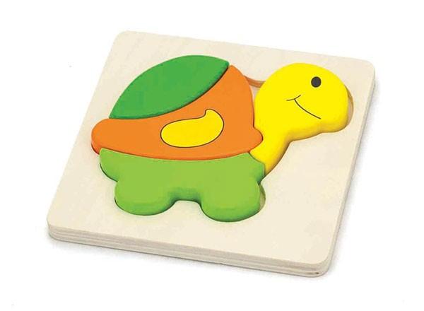 Holzpuzzle Schildkröte