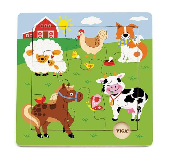 Themenpuzzle Bauernhof