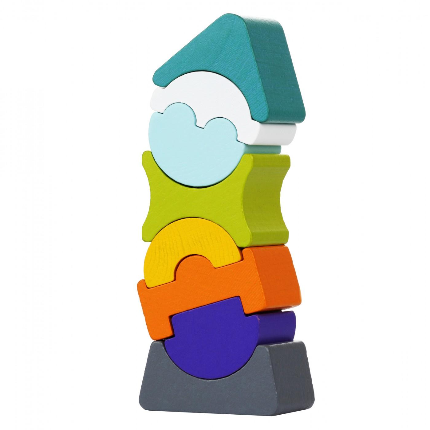 Motoriksteckspiel - Flexibler Turm LD-7