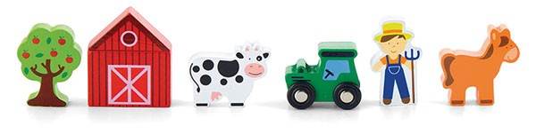 Figuren-Set Bauernhof