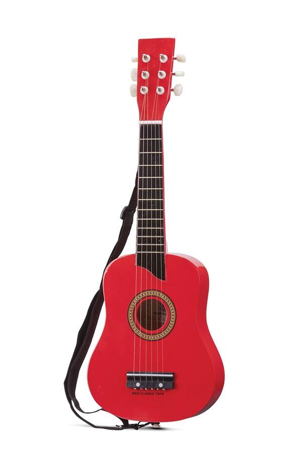 Gitarre Deluxe ROT