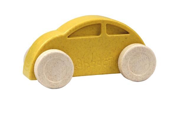 Anbac-Auto-Chassis gelb/Räder weiß