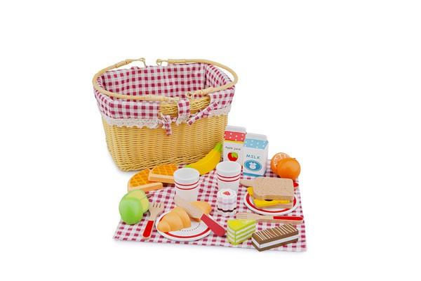 Picknickkorb/Schneide-Set