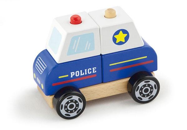 Steckspiel Polizeiauto