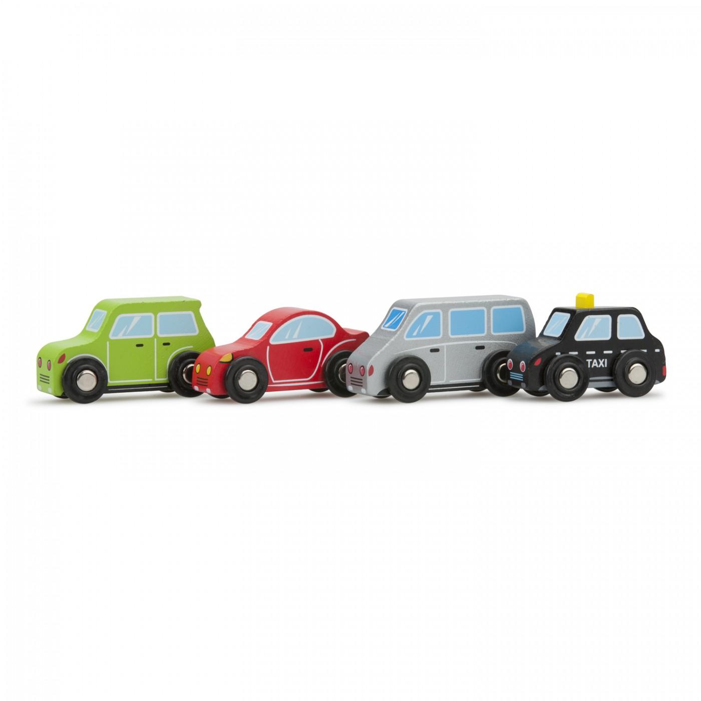 4-teiliges Fahrzeugset