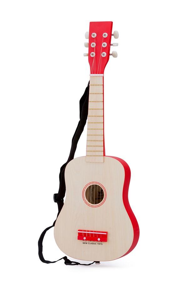 Gitarre NATUR/ROT