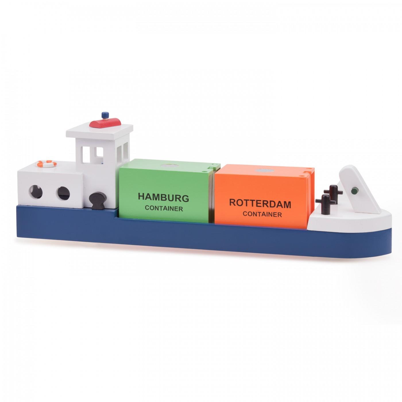 Frachtkran mit 2 Containern