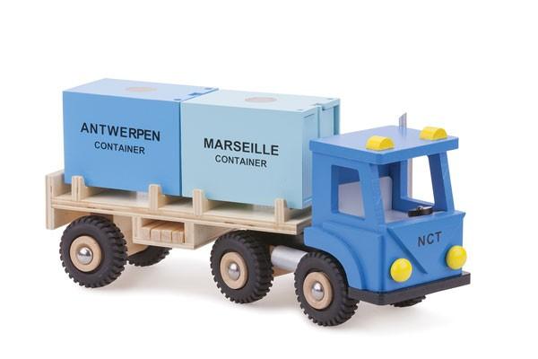 LKW mit Containern