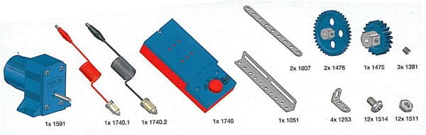 Profi-Getriebe-Set