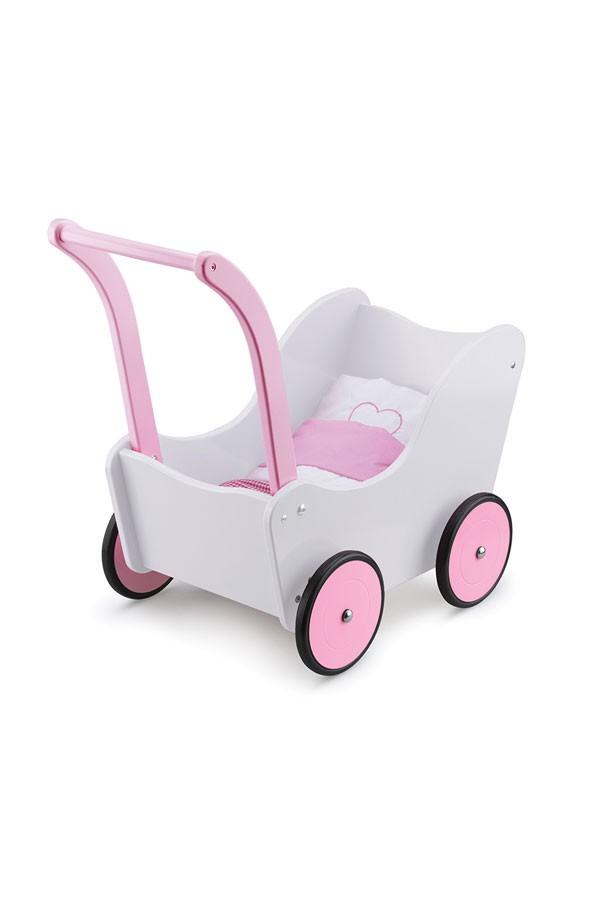 Puppenwagen-CREME-inklusive Bettgarnitur