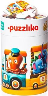 "puzzlika - ""Fabelhafter Zug"", 20 teiliges Puzzle"