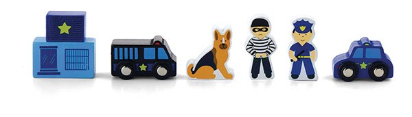 Figuren-Set Polizei