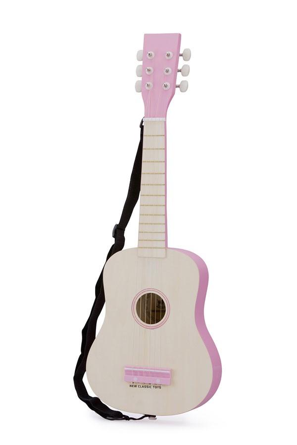 Gitarre NATUR/PINK
