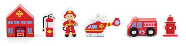 Figuren-Set Feuerwehr