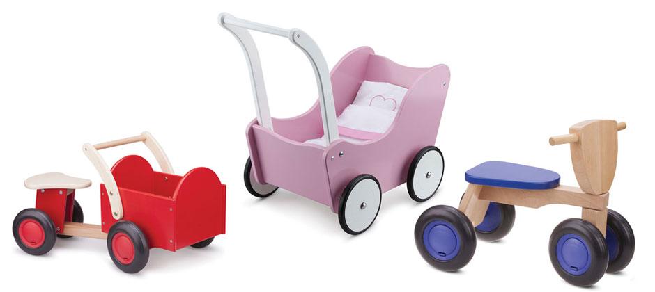 Rutscher und Puppenwagen