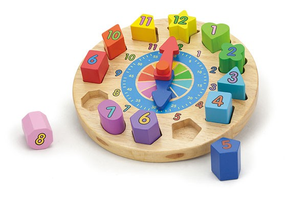 Puzzle-Uhr