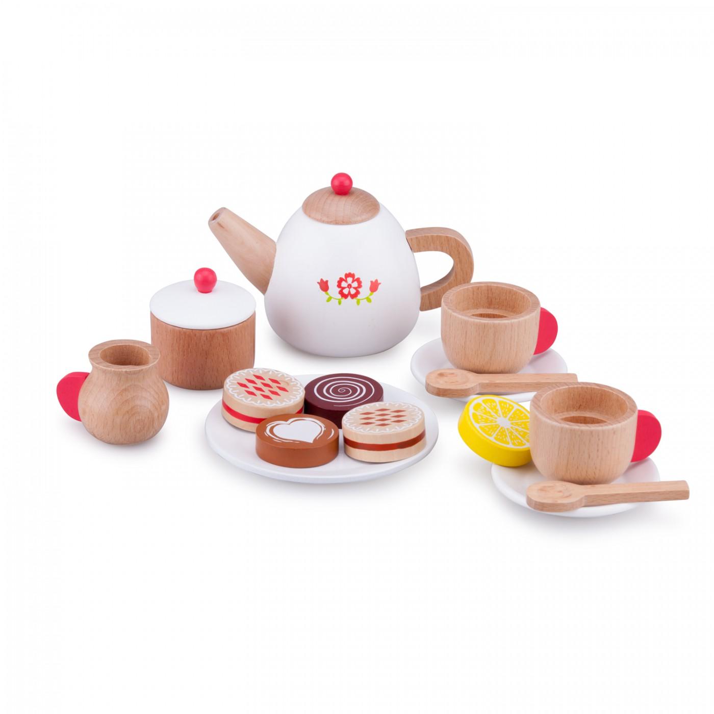 Tee-Set-Blume