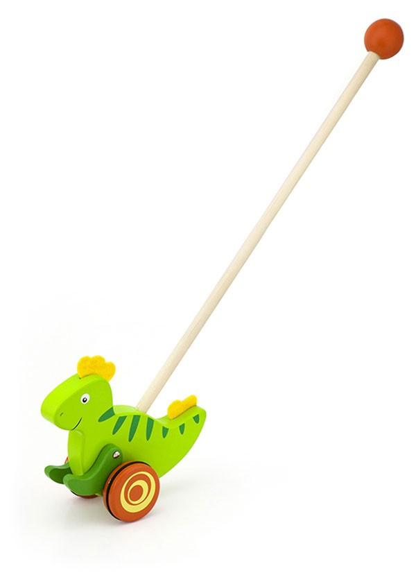 Schiebespielzeug Dino
