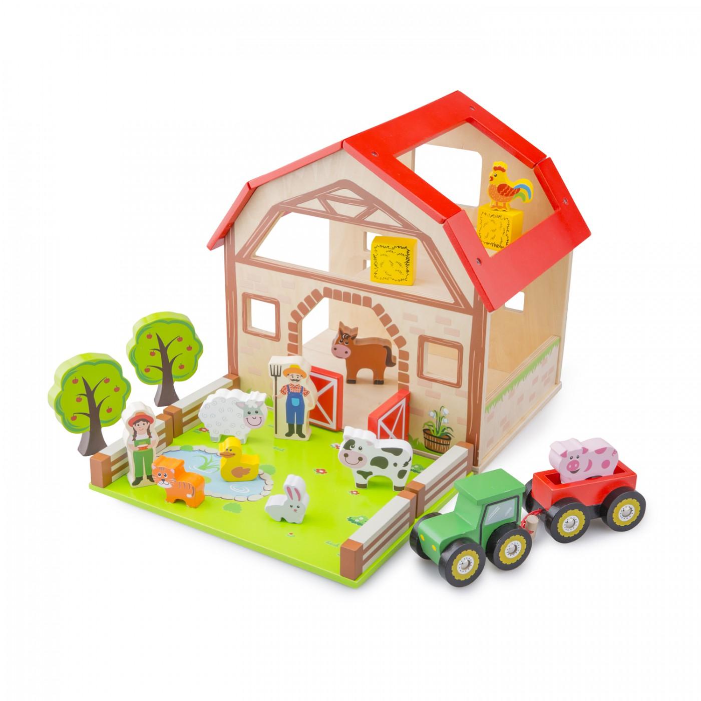 Bauernhof Spiel-Set