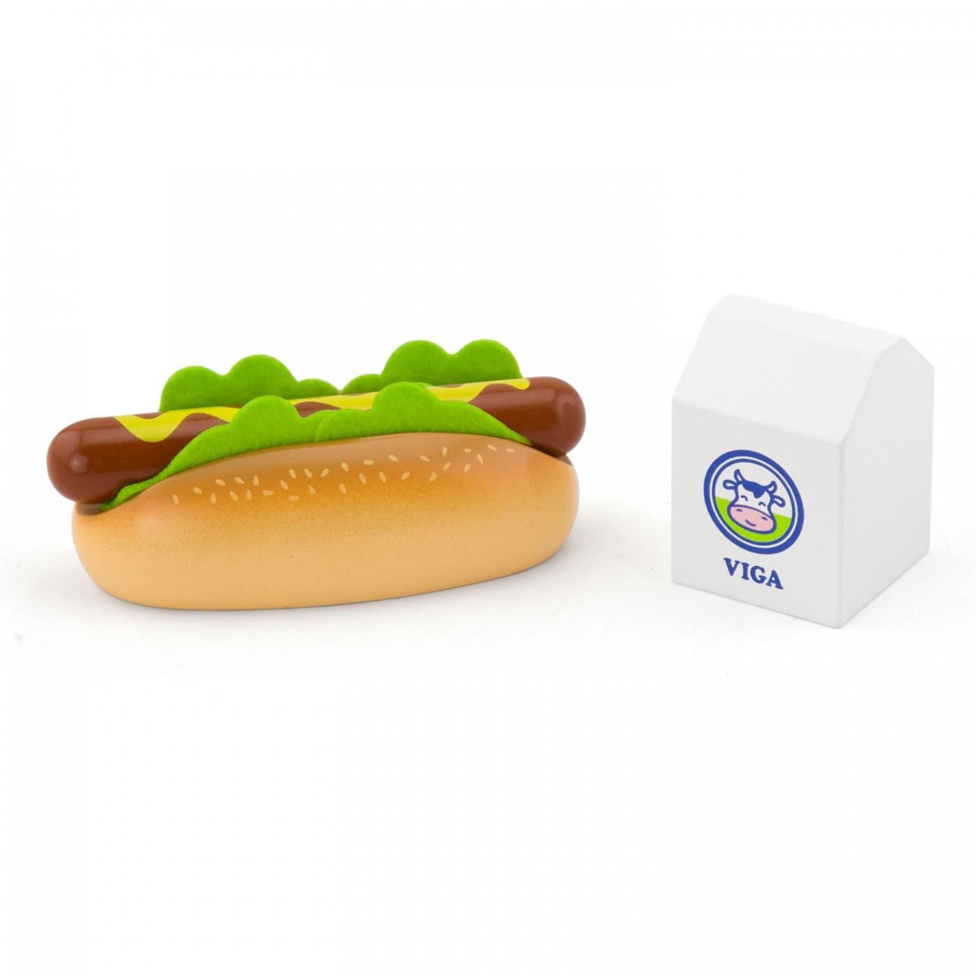 Hotdog mit Milch - Set