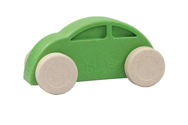 Anbac-Auto-Chassis grün/Räder weiß