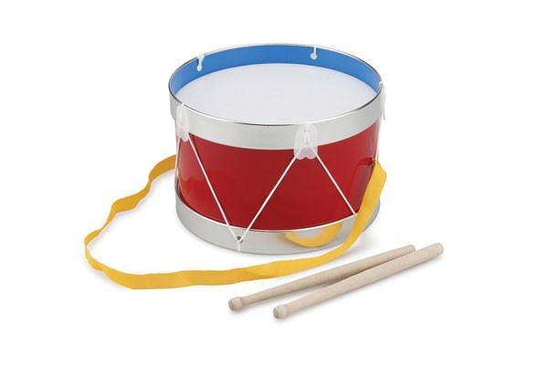 Trommel-Groß-ROT von New Classic Toys Holzspielwaren
