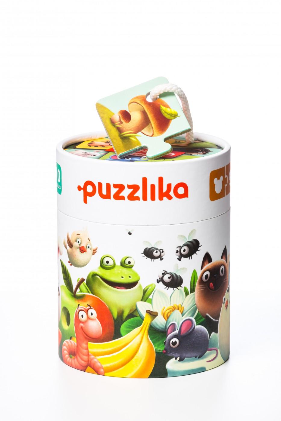 """puzzlika - """"Mein Essen"""", 20 teiliges Puzzle"""