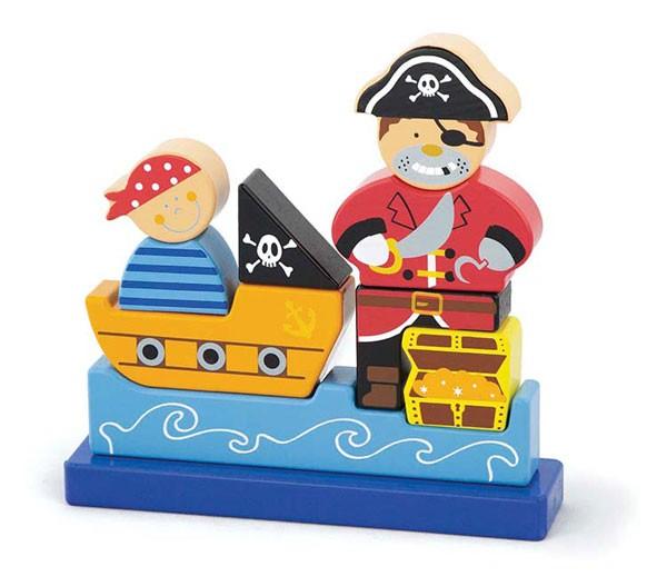3D Magnetpuzzle Pirat