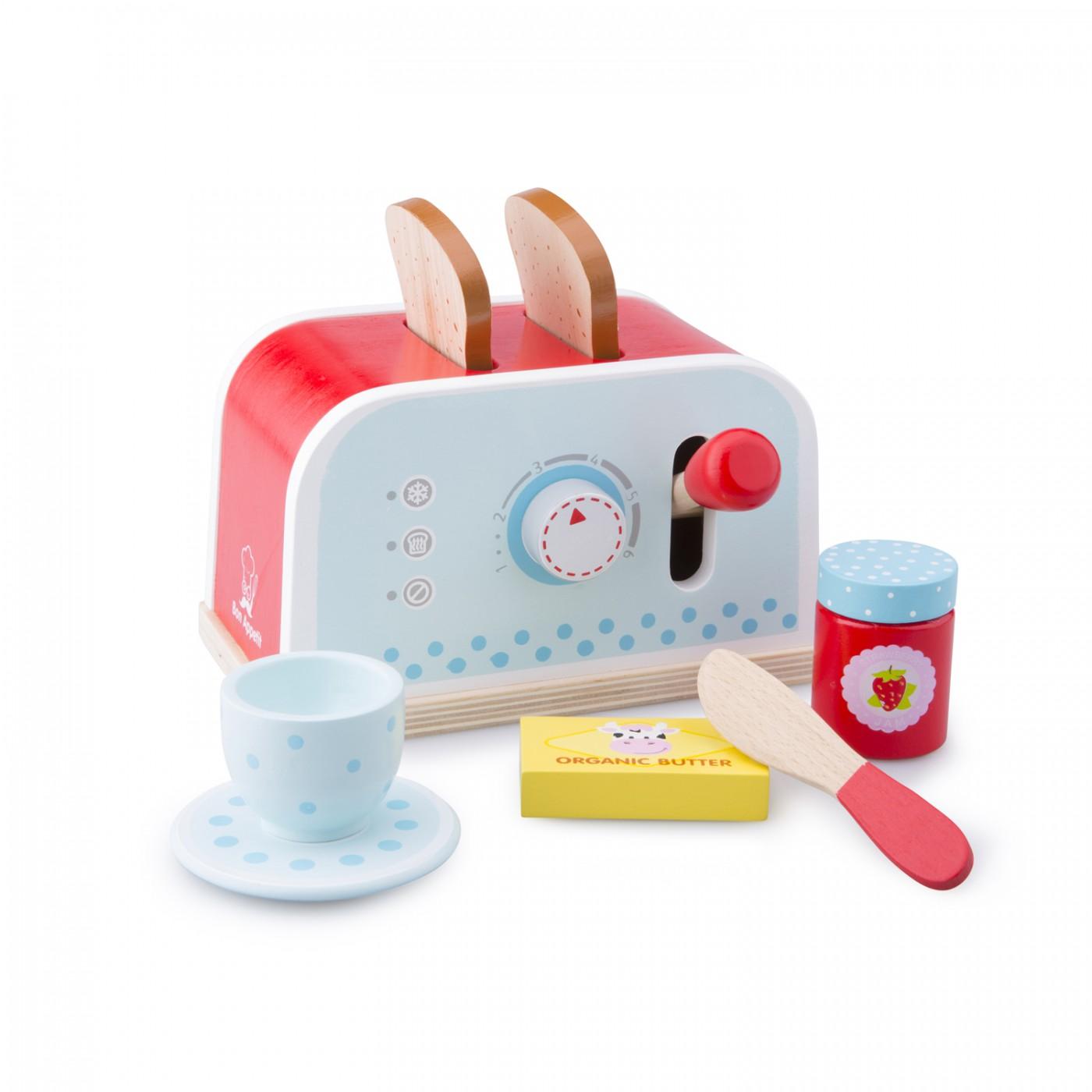 Toaster mit Zubehör