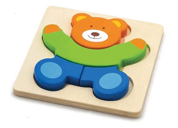 Holzpuzzle Bär