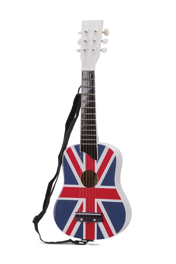 Gitarre UK Flagge