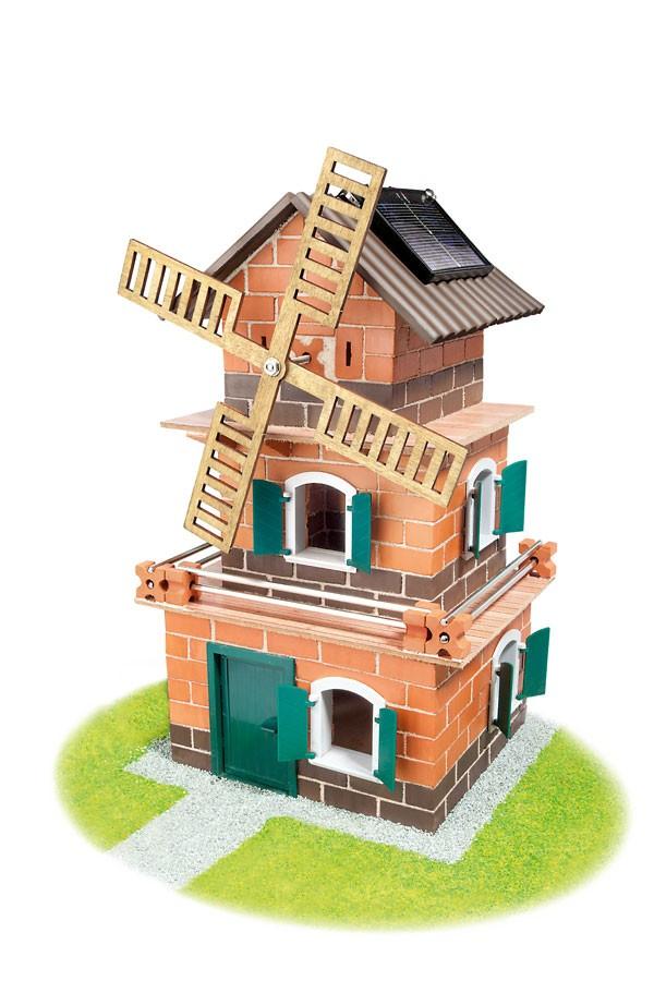Solar-Haus-Windmühle
