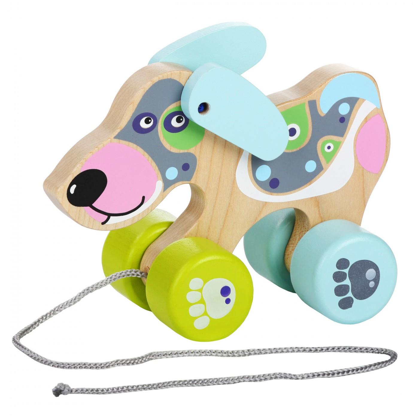 Ziehtier - Hund kreatives Design LK-1
