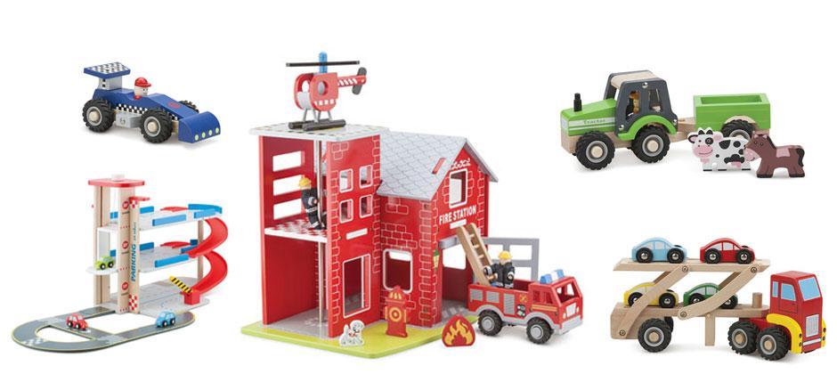 Fahrzeuge und Garage