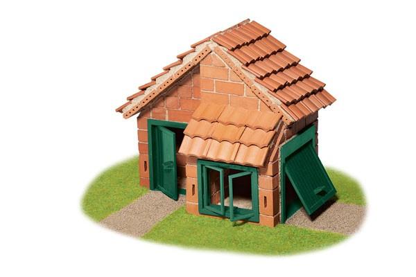 Haus mit Ziegeldach