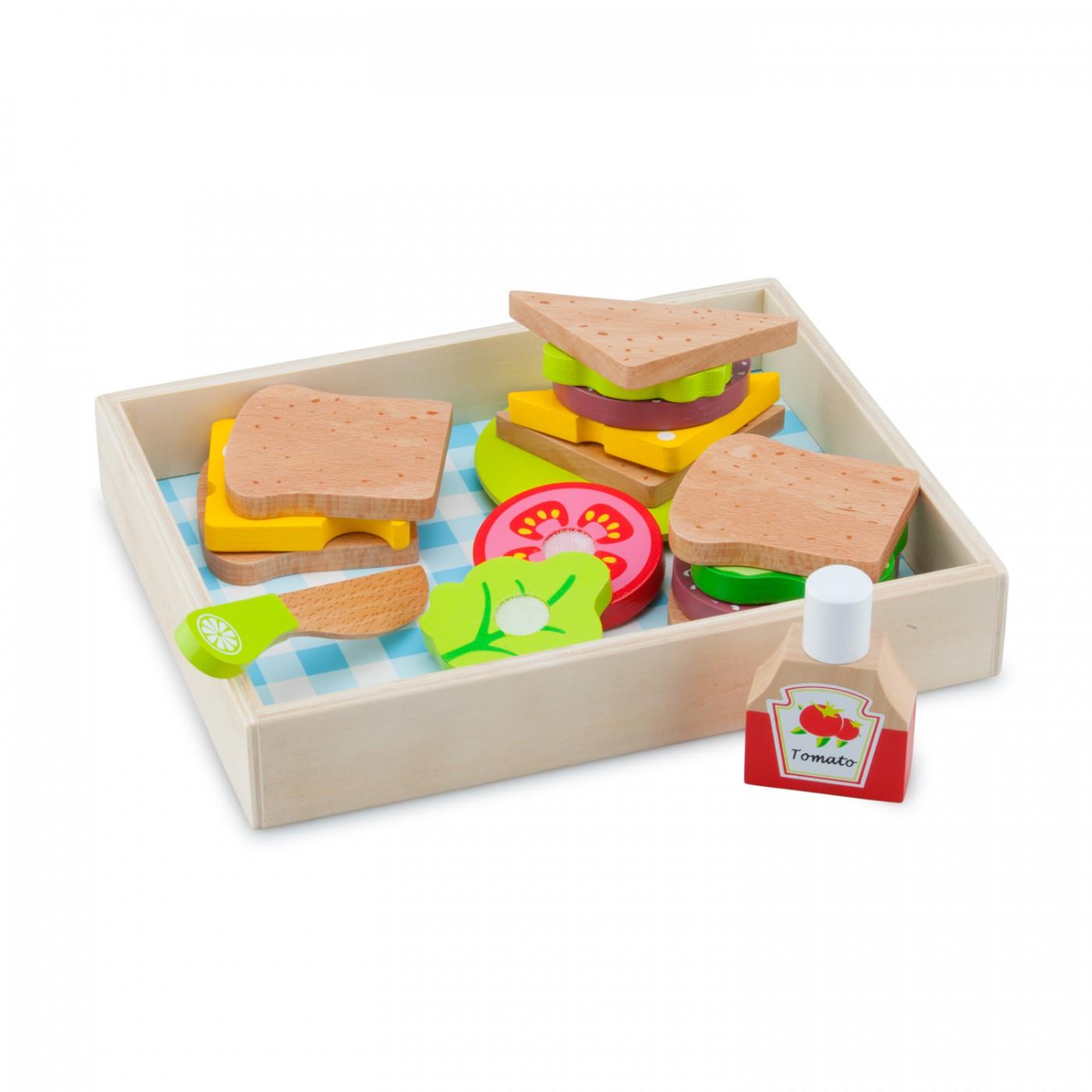 Schneide-Set Sandwich