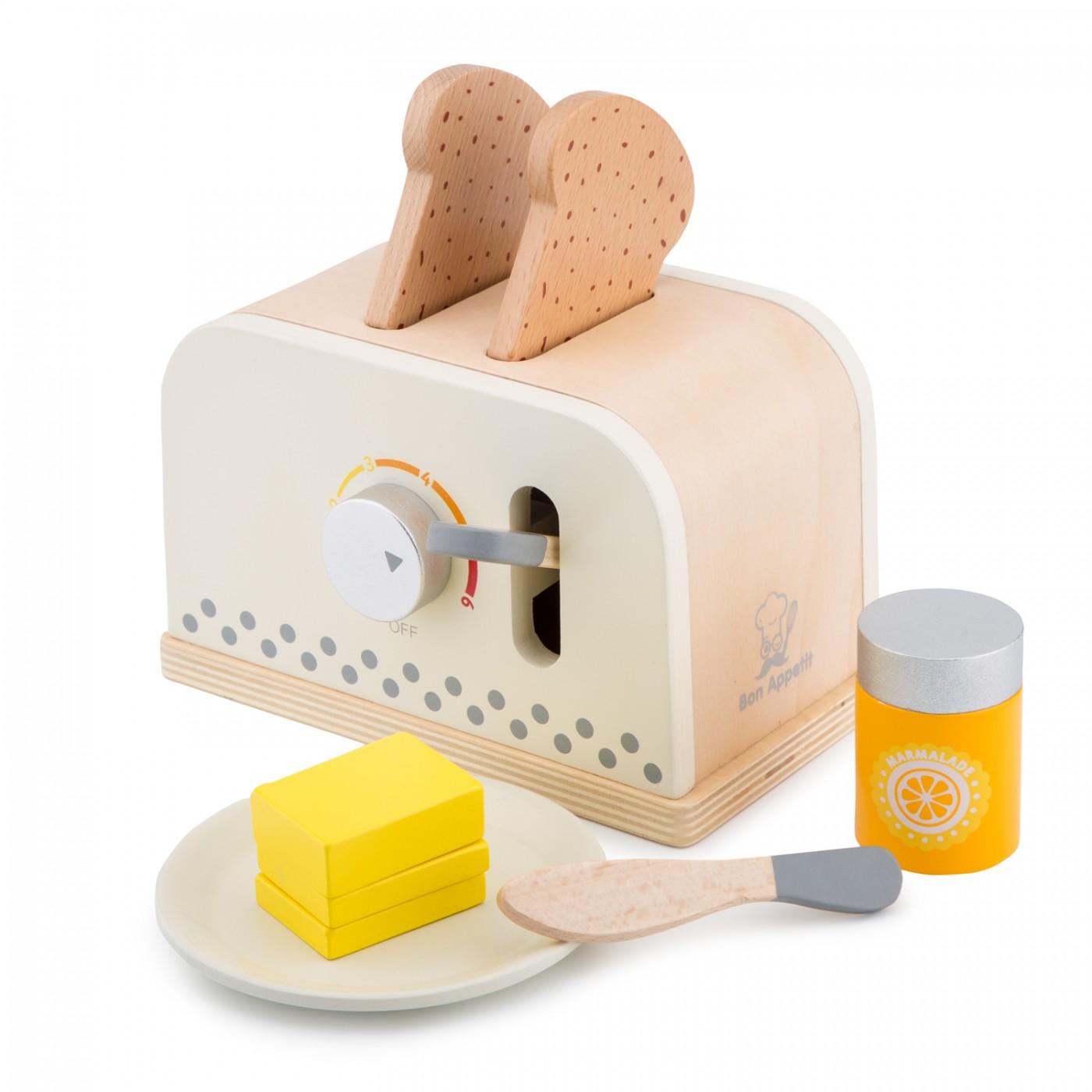 Toaster mit Zubehör - Creme